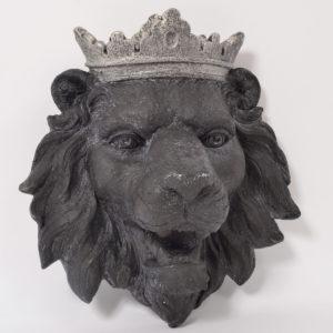 Tête de lion Mural
