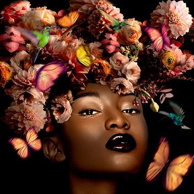 """Tableau """"Black beauty"""""""