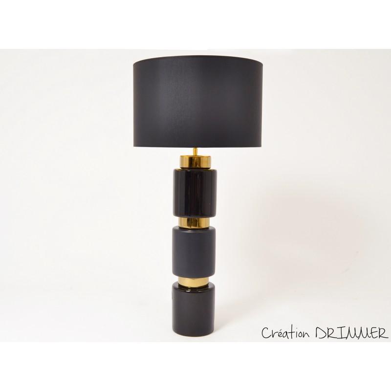 STRIPE lampe noire/or +A1676