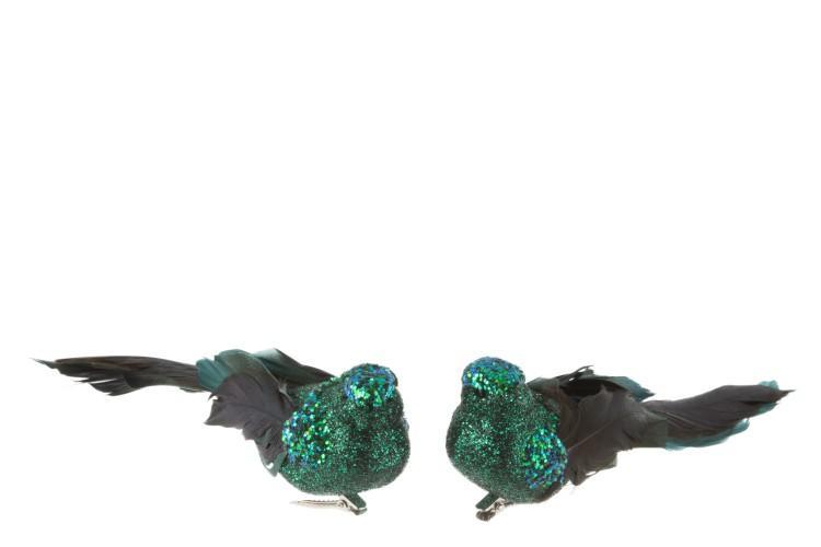Oiseau clip PLU PAI vert