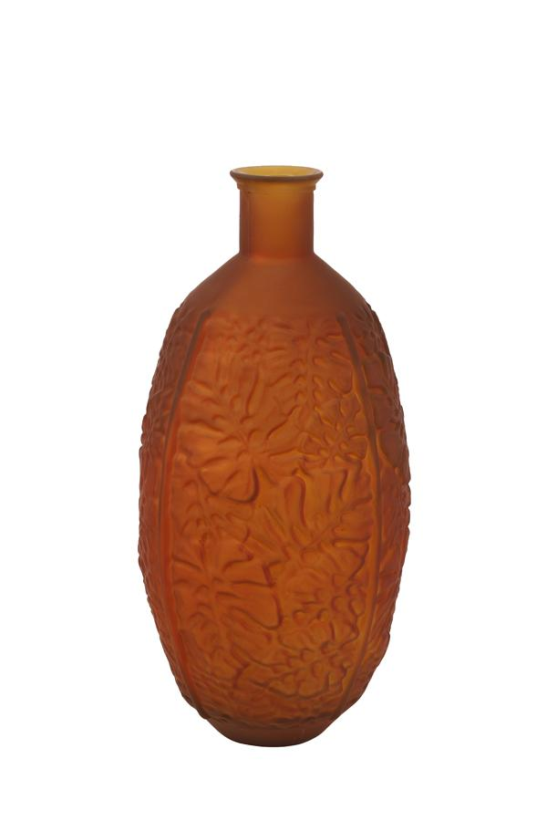 Vase TRENADO verre orange mat