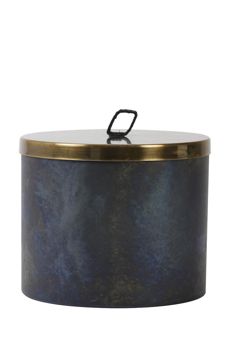 Boîte ronde ALEGRANZO bleue