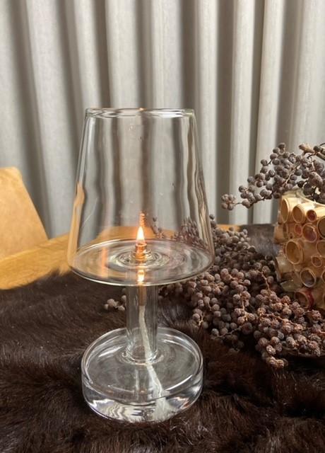 Lampe à huile à Pied 22 cm