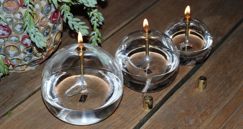 "Lampe à huile ""Boule"""