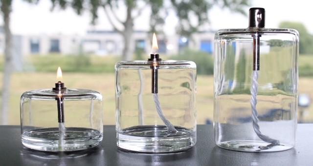 """Lampe à huile """"Cylindrique"""""""