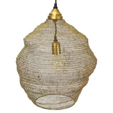 Lustre Métal Gold 40 cm