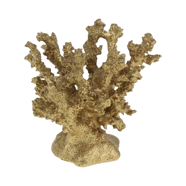 Corail en résine Gold