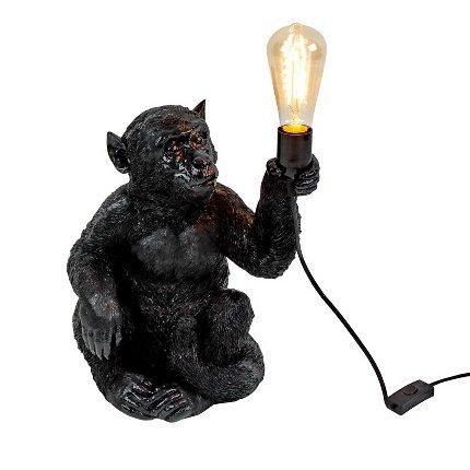 Lampe Singe Debout Gold