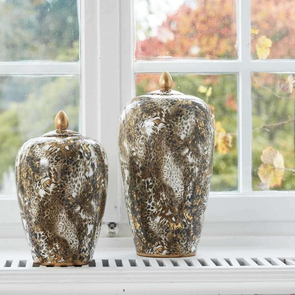 Vase Leopard